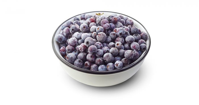 frozen blueberries - 526