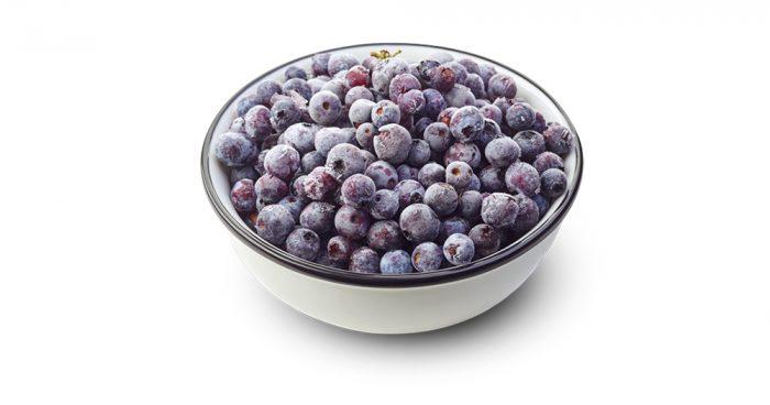 frozen blueberries - 526