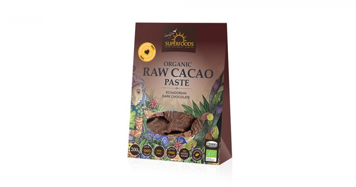 raw cacao paste